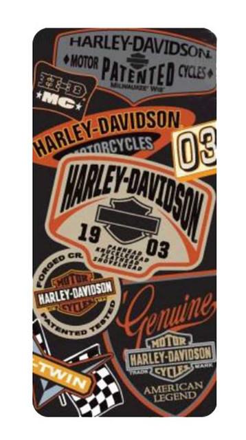 Harley-Davidson iPhone 5/5s Shell Printed TPU Logo's Orange & Black 07608 - Wisconsin Harley-Davidson