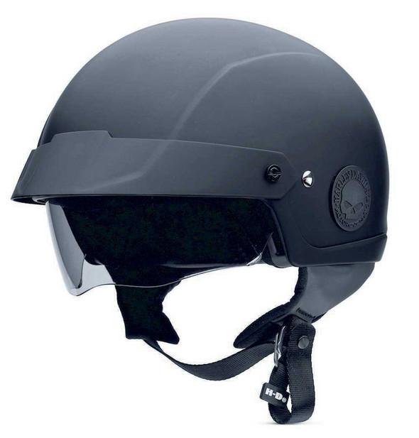 Harley-Davidson Men's Cross Roads Half Helmet With Sun Shield 98282-14VM - Wisconsin Harley-Davidson