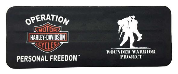 Harley-Davidson Wounded Warrior Project Slap Wrist Can Wrap, Black SWWWP1 - Wisconsin Harley-Davidson