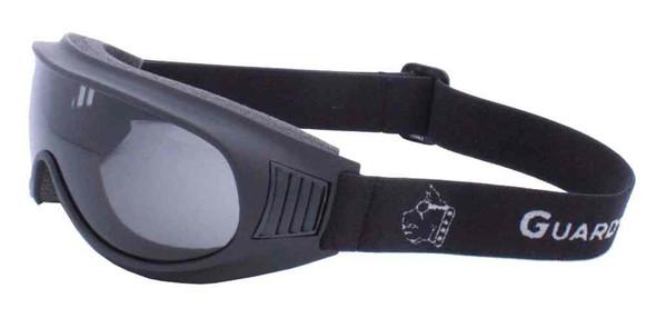 Guard-Dogs Commander I Motorcycle Dry Eye Goggles, Smoke Lens, Black 050-12-01 - Wisconsin Harley-Davidson