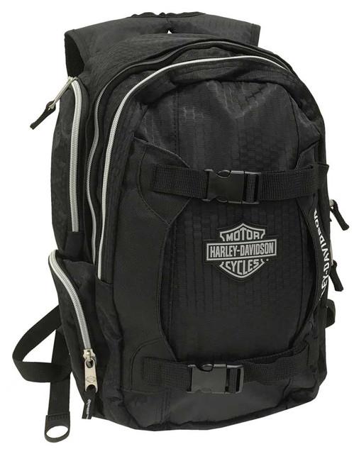 Harley-Davidson Bar & Shield Equipt Multi-Functional Backpack, 99419-Black - Wisconsin Harley-Davidson