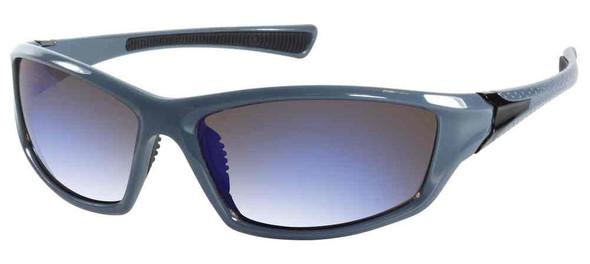 Harley-Davidson Men's Lifestyle Sunglasses, Blue Frames & Polycarbonate Lens - Wisconsin Harley-Davidson