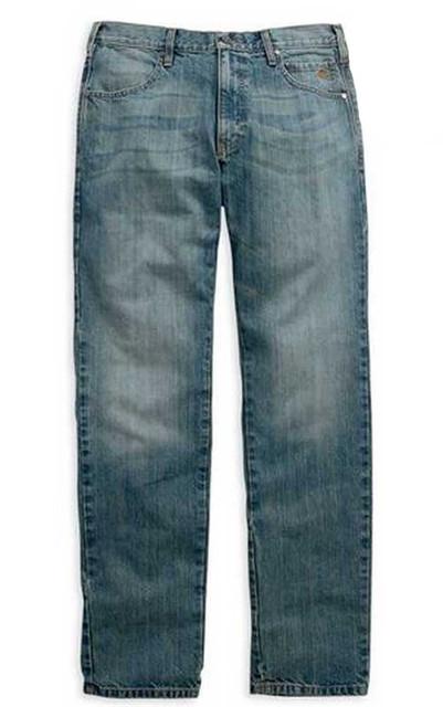 Harley-Davidson Men's Modern Straight Jeans Light Wash, Denim. 99003-15VM - Wisconsin Harley-Davidson