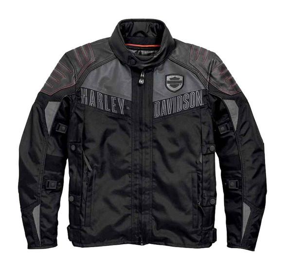 Harley-Davidson Men's Triple Vent System Drexel Functional Jacket 97452-15VM - Wisconsin Harley-Davidson