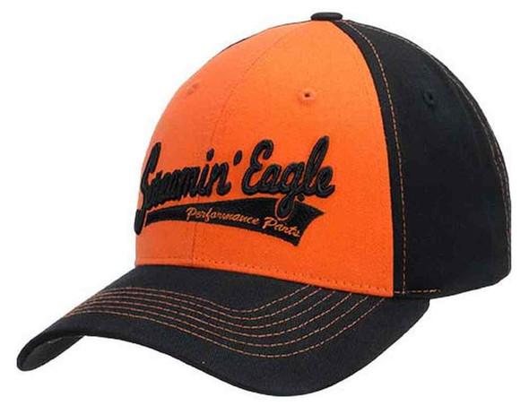 Harley-Davidson Men's Screamin' Eagle Tailsweep Baseball Cap, Black HARLMH0279 - Wisconsin Harley-Davidson