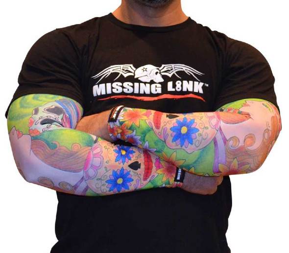 Missing Link SPF 50 Face Off Arm Pro Compression Sleeves - APFO - Wisconsin Harley-Davidson