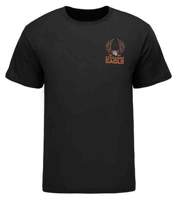 Harley-Davidson Screamin' Eagle Men's Scout Eagle T-Shirt, Black HARLMT0231 - Wisconsin Harley-Davidson