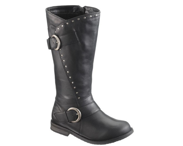 Harley-Davidson Women's Sapphire 13-Inch Double Buckle Motorcycle Boots. D85529 - Wisconsin Harley-Davidson