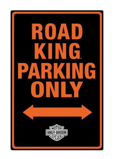 Harley-Davidson Embossed Road King Motorcycle Packing Only Tin Sign 2011011 - Wisconsin Harley-Davidson