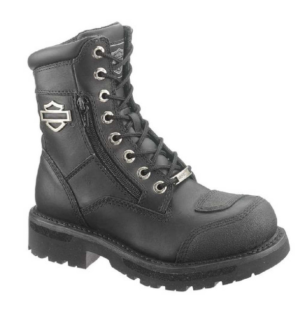 Harley-Davidson Women's Sydney 6-Inch Leather Motorcycle Boots D87005 - Wisconsin Harley-Davidson