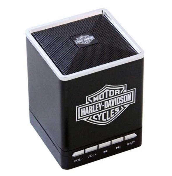 Harley-Davidson Bar & Shield Portable Bluetooth Speakers w/ Speakerphone 6861 - Wisconsin Harley-Davidson