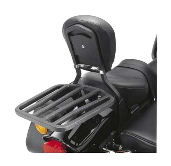 Harley-Davidson 6-Spoke Motorcycle Luggage Rack, Sleek Black 53850-00A - Wisconsin Harley-Davidson