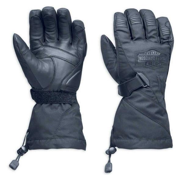 Harley-Davidson Men's Passing Link Waterproof Gauntlet Gloves 98305-14VM - Wisconsin Harley-Davidson