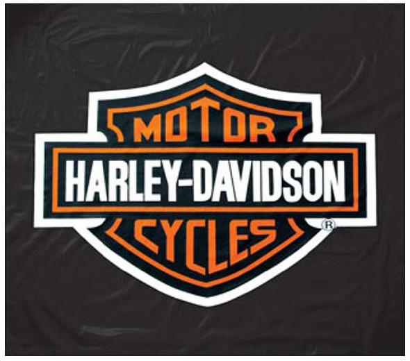 Harley-Davidson 8ft Black Vinyl Pool Table Cover HDL-11160 - Wisconsin Harley-Davidson