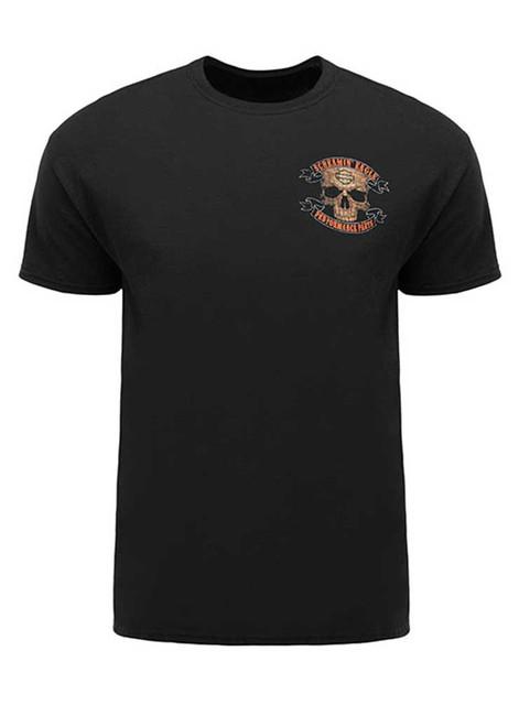 Harley-Davidson Screamin' Eagle Men's T-Shirt, Workin' Skull, Black HARLMT0218 - Wisconsin Harley-Davidson