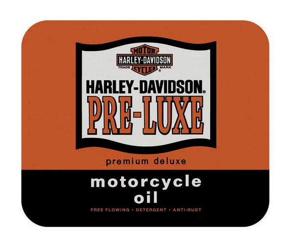 Harley-Davidson Pre-Luxe Mouse Pad Orange & Black MO01638 - Wisconsin Harley-Davidson