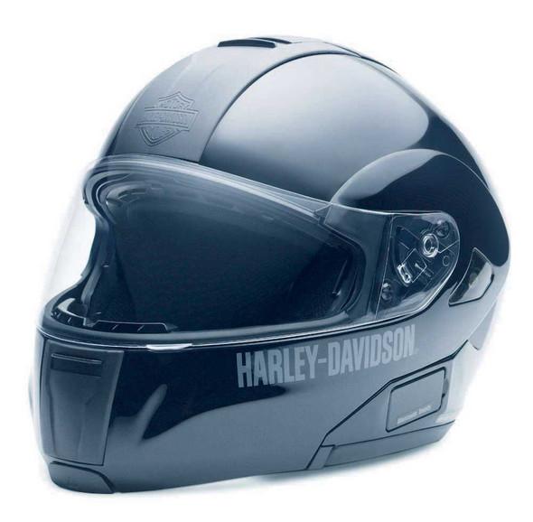 Harley-Davidson Men's Modular Helmet With Sun Shield GLOSS 98211-10VM - Wisconsin Harley-Davidson