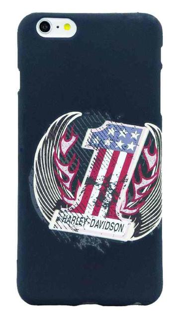 Harley-Davidson Men's Distressed Americana #1 iPhone 6/6S Plus Phone Shell, 8306 - Wisconsin Harley-Davidson