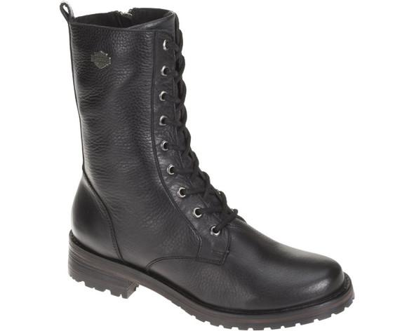 Harley-Davidson Women's Kenova 7.5-Inch Black Leather Boots. D83768 - Wisconsin Harley-Davidson