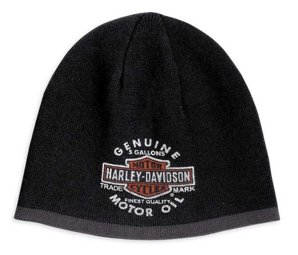 Harley-Davidson Men's Reversible Genuine Oil Can Kit Hat 99438-10VM - Wisconsin Harley-Davidson