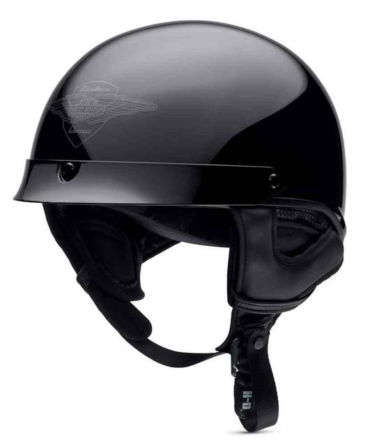 Harley-Davidson Men's Sunder Ultra-Light J02 Half Helmet, Black. 98389-16VM - Wisconsin Harley-Davidson
