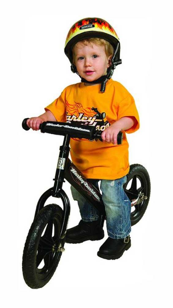 Fantastic Harley Davidson Strider Bike Boys Youth Black No Pedal Balance Bike St Sc4Hd Bk Machost Co Dining Chair Design Ideas Machostcouk