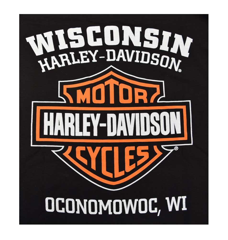 Genuine Harley Davidson Men/'s Long Weathered T-Shirt