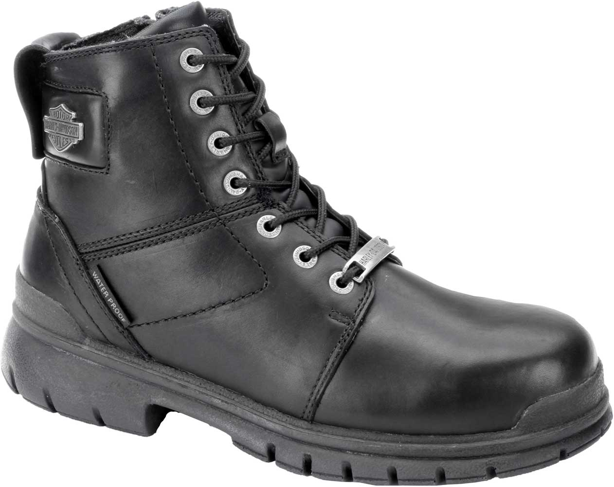 Harley-Davidson® D93198 Men/'s Gage Composite Toe Leather Motorcycle Boots