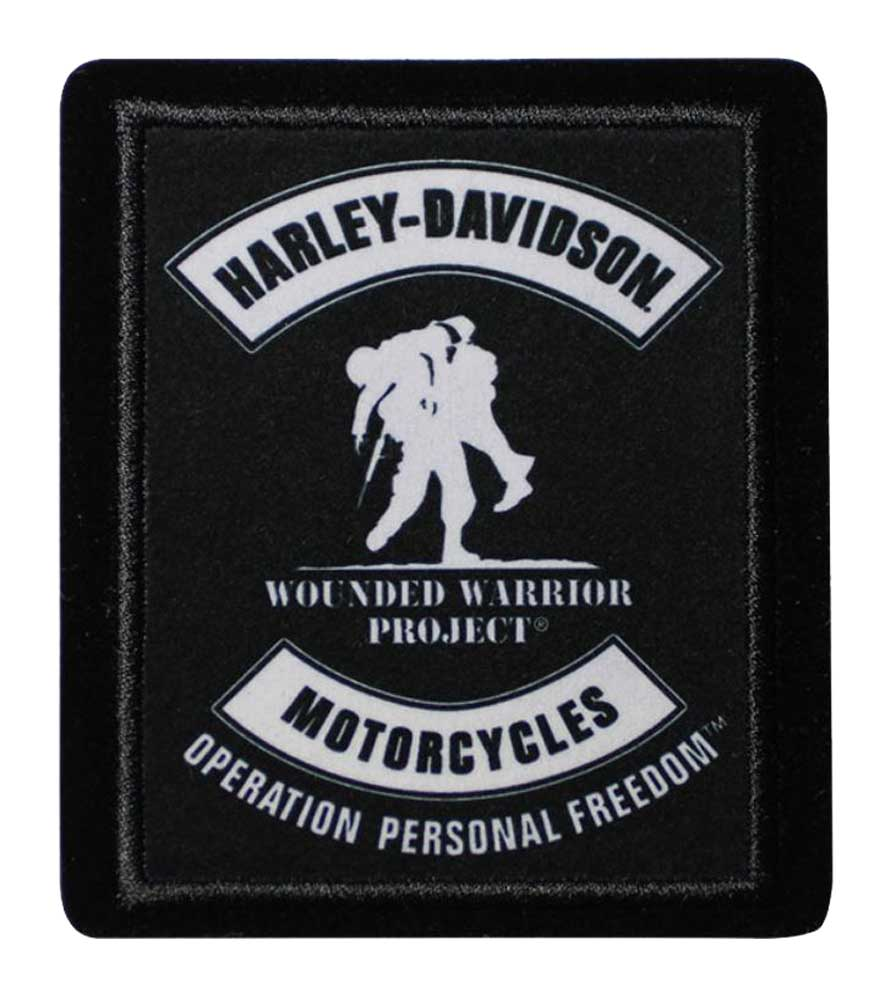 """0514 W*W Wounded Warrior Shield Embroidered Patch 21//2/""""X 31//2/"""""""