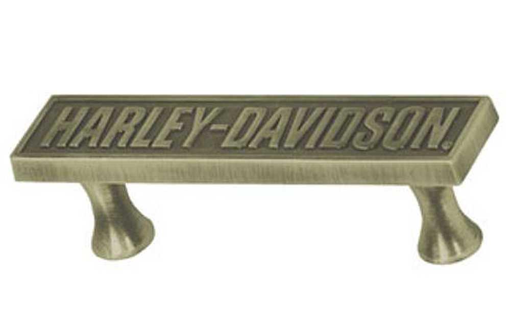 Astonishing Harley Davidson Bar Font Pull Hardware Antique Brass Hdl 10127 Uwap Interior Chair Design Uwaporg