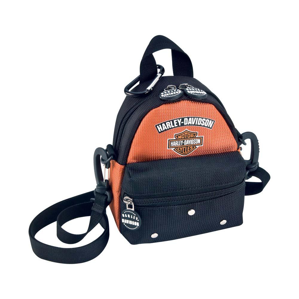Black 99668 Harley-Davidson Womens Girls Mini Me Backpack