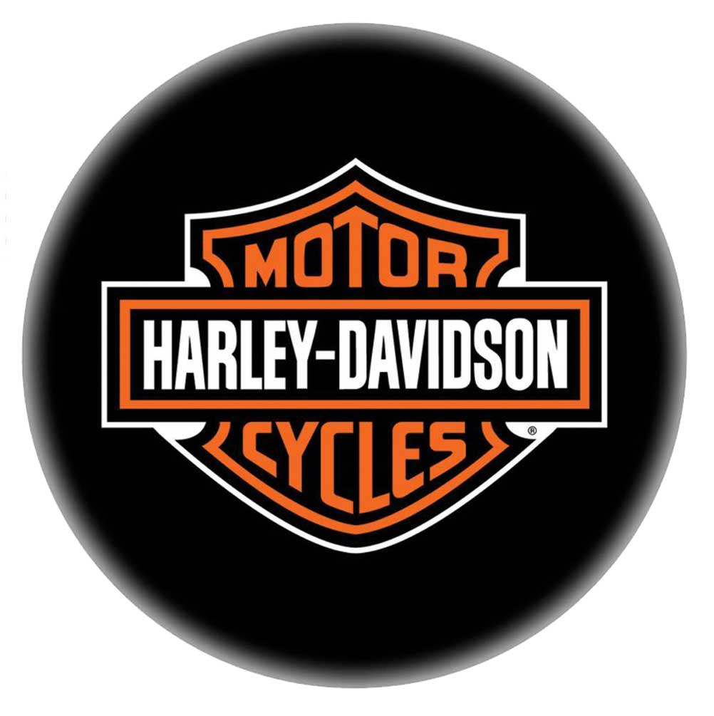 Awe Inspiring Harley Davidson Bar Shield 24 Inch Premium Quality Bar Stool Black Hdl 12132 Squirreltailoven Fun Painted Chair Ideas Images Squirreltailovenorg