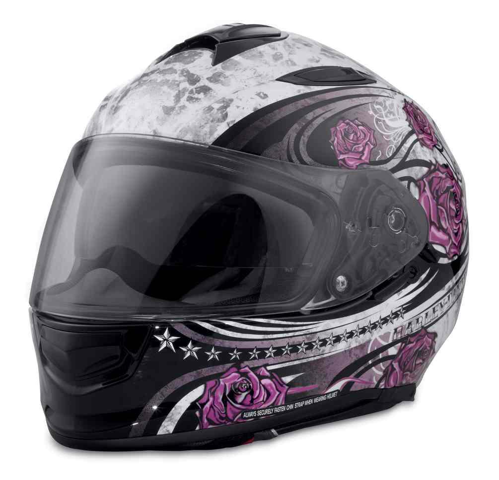 Harley Davidson Women S Landscape Airfit Sun Shield Full Face Helmet 98327 17vx