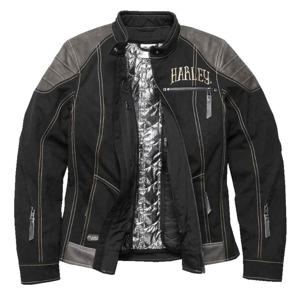 Davidson® Functional Harley Women's JacketBlack Riding 97147 Baxley 17vw N0P8nwkOX