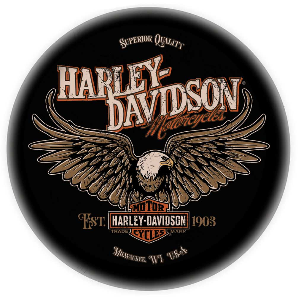 Outstanding Harley Davidson Bar Shield Eagle Bar Stool W Backrest Black Hdl 12211 Squirreltailoven Fun Painted Chair Ideas Images Squirreltailovenorg