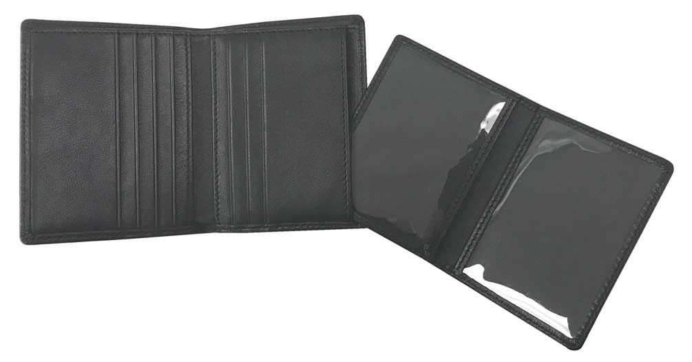 Harley-Davidson Men/'s Soft Napa Leather Bi-Fold Plus One Wallet NP5731L-BLACK