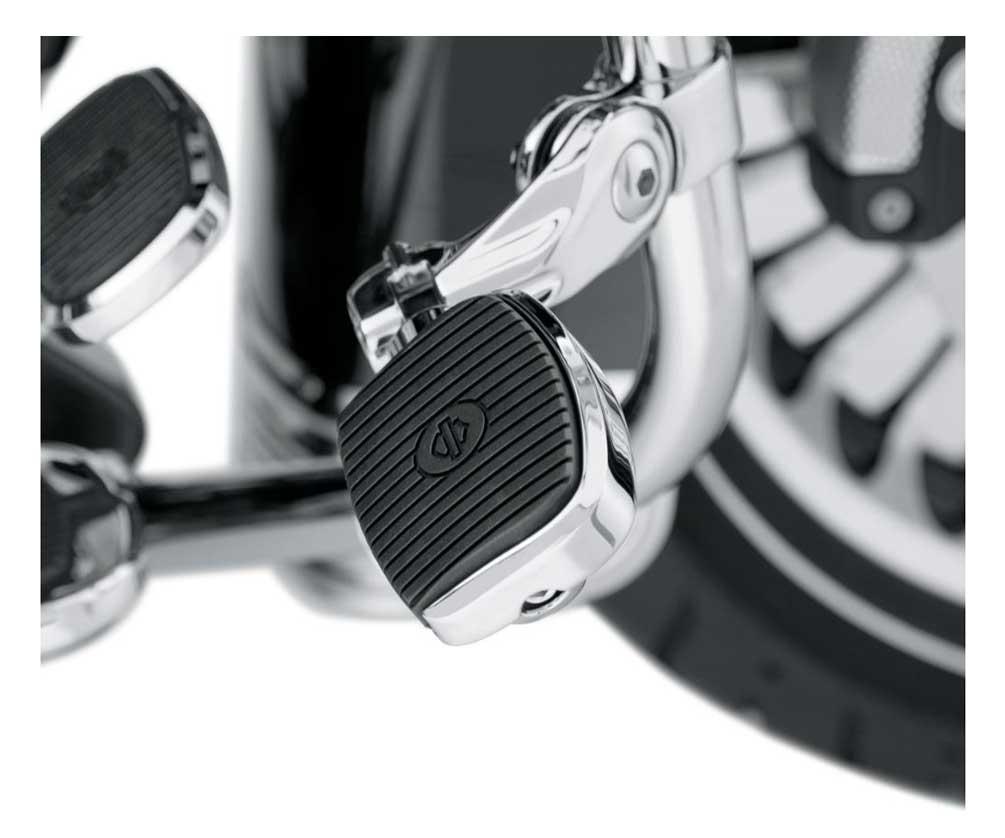 Chrome Mini Footboard Kit Small For Harley-Davidson