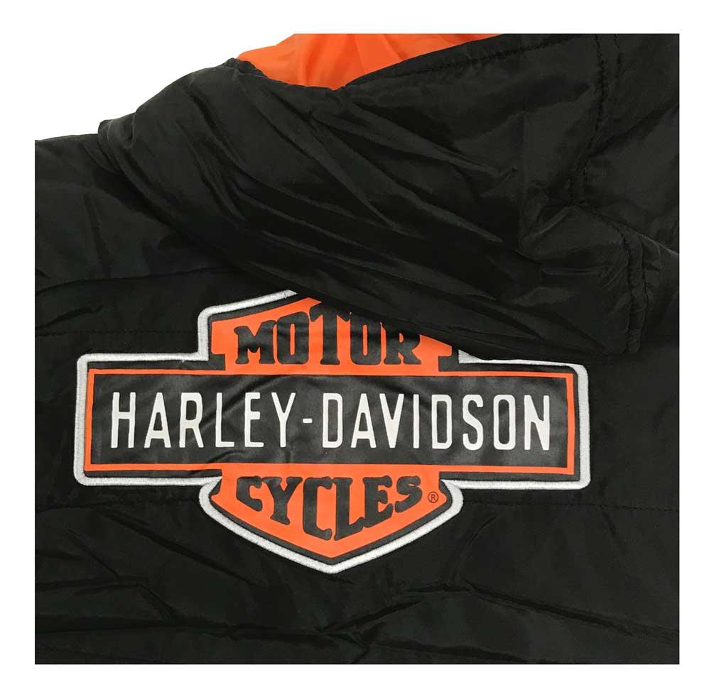 Black 6073867 Harley-Davidson Little Boys/' Packable Puffer Toddler Jacket