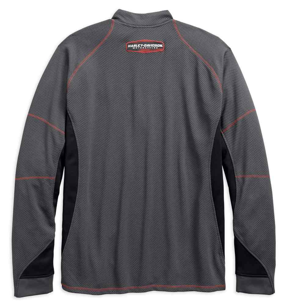Harley-Davidson Men/'s Performance Wicking Colorblocked Hoodie 96545-19VM