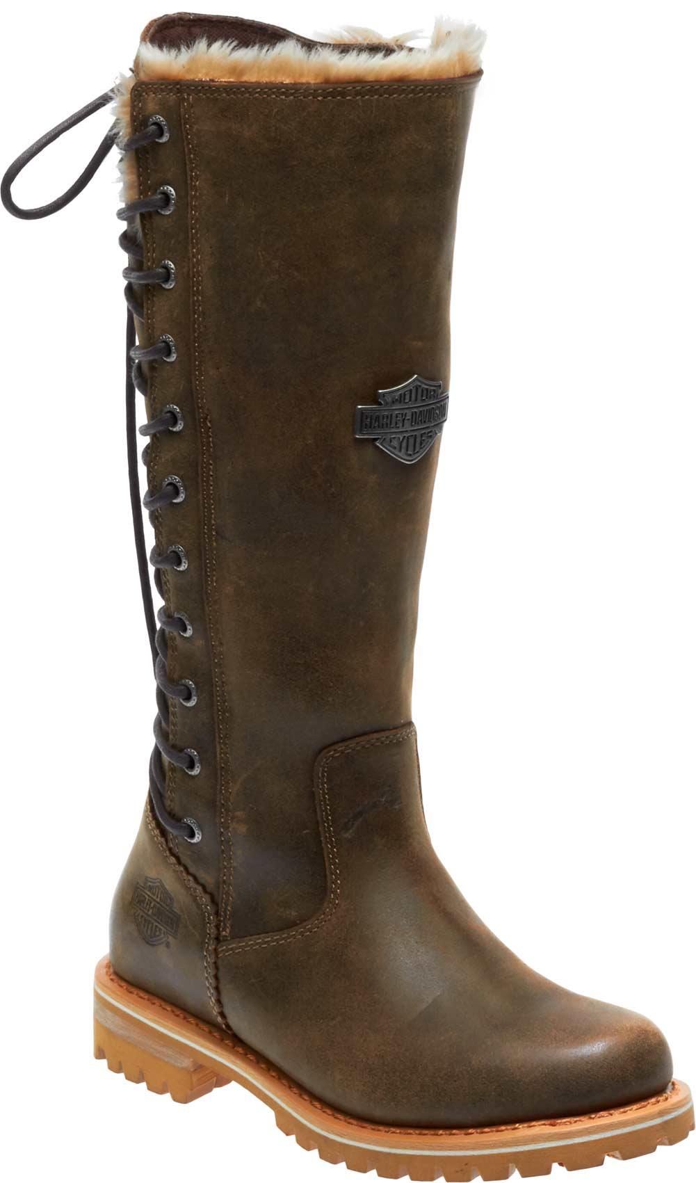 Black Women/'s Harley-Davidson Dorland Boots