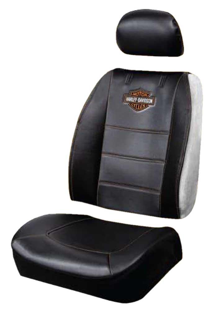 Harley Davidson Covers >> Harley Davidson Premium B S Sideless 3 Piece Seat Cover Black Single P8592