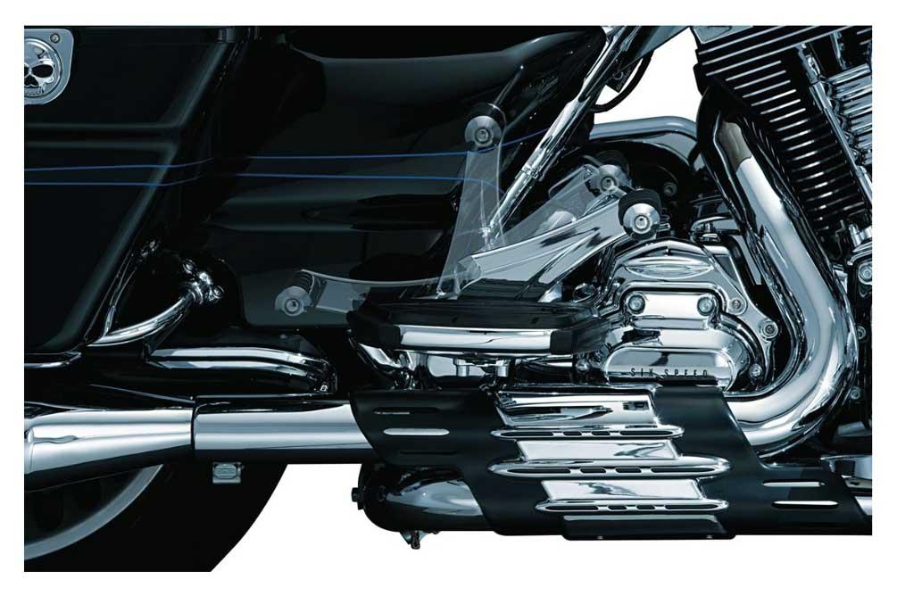 Kuryakyn Chrome Adjustable Passenger Pegs For 2012-2018 Fixed Mounts 4353