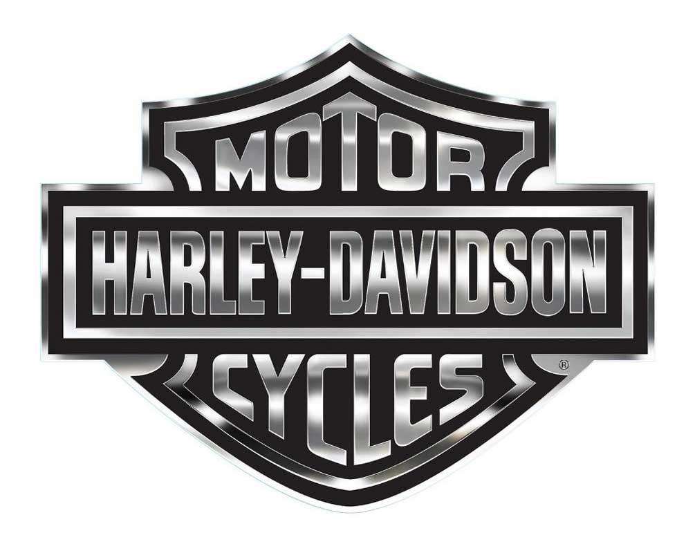 Harley Davidson Bar And Shield >> Harley Davidson Bar Shield Logo Decal X Large 30 X 40 In Gray Black Cg4330