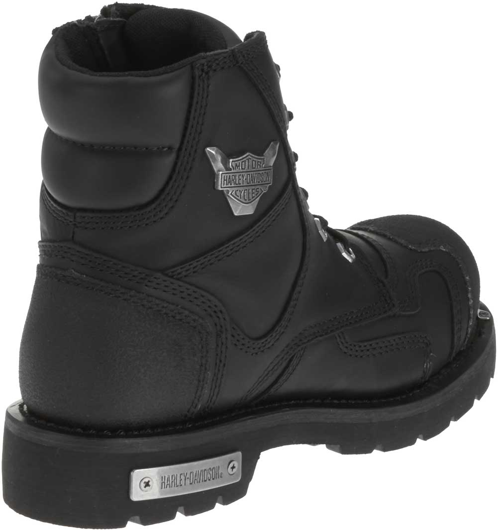 Men's Stealth Motorcycle Boots. Patch