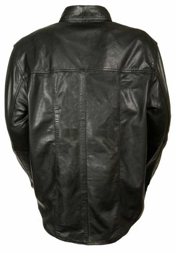 New Men's Original Original Original Lambskin Leder Blazer