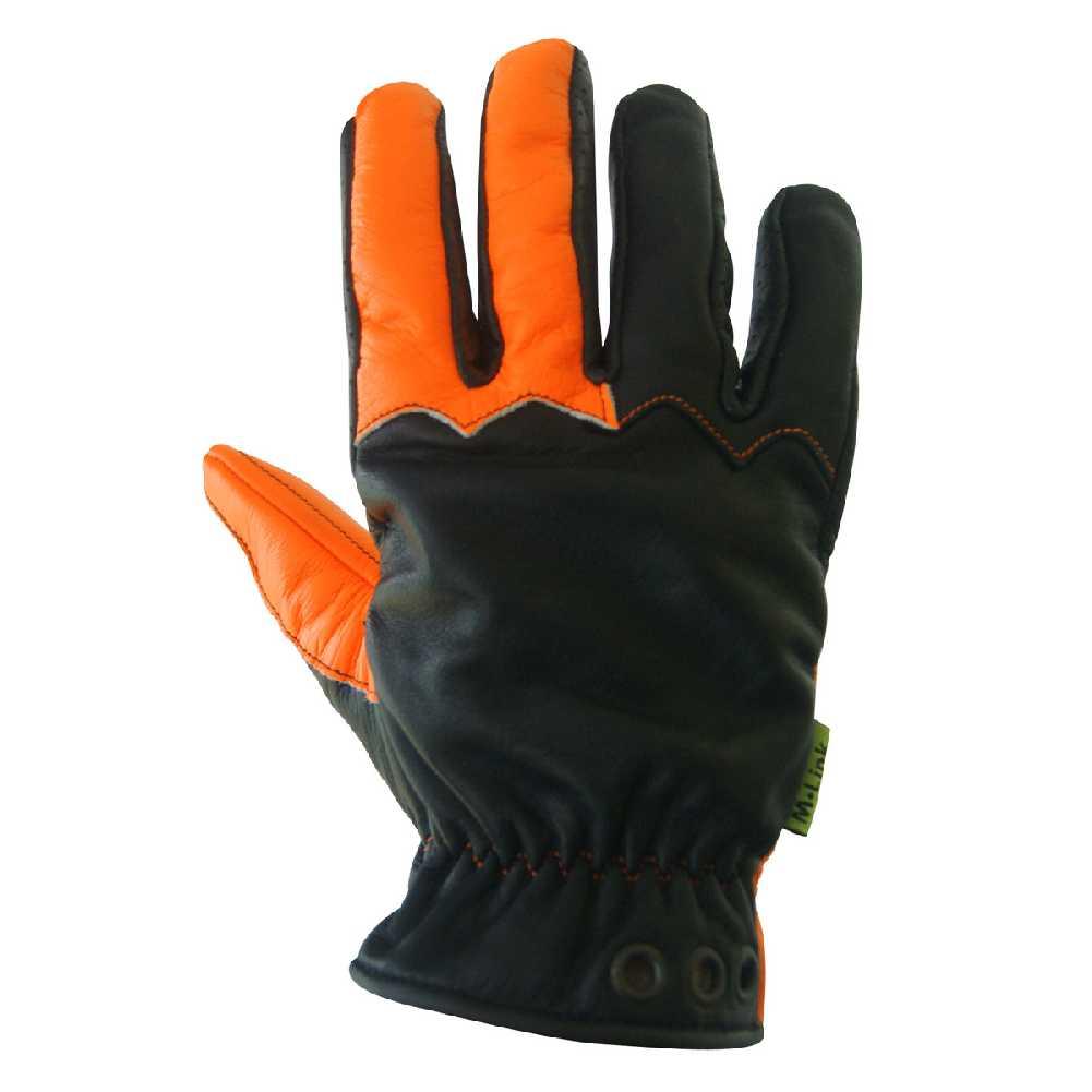 Hi-Viz Orange CGG Missing Link Communique Visability Gloves Black