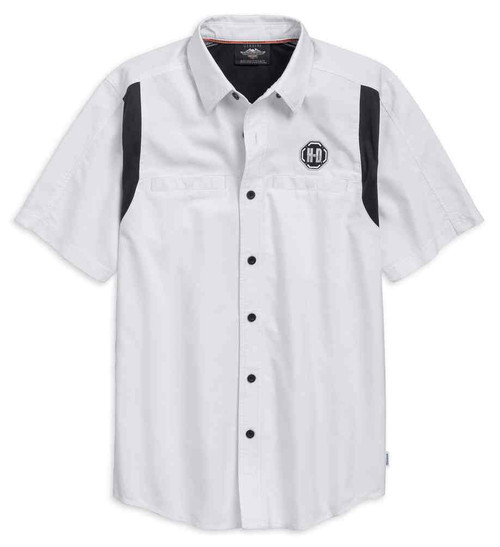99189-19VM HARLEY-DAVIDSON/® Mens Performance Colorblock Shirt with CoolcoreTechnology