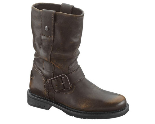 Harley Davidson® Women's Darice 8.5 Inch Black or Brown Motorcycle Boots. D85416