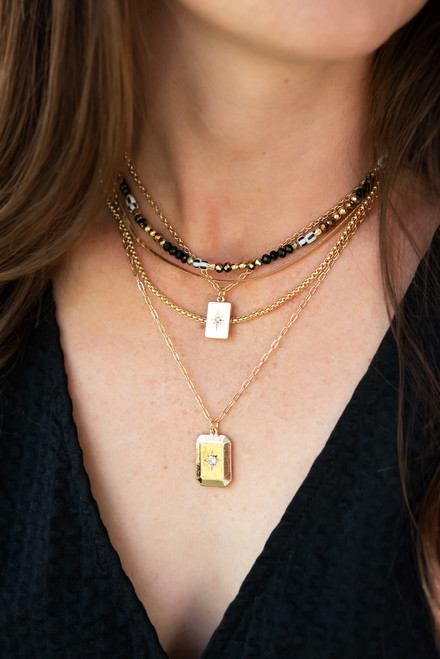 Angel Layered Necklace