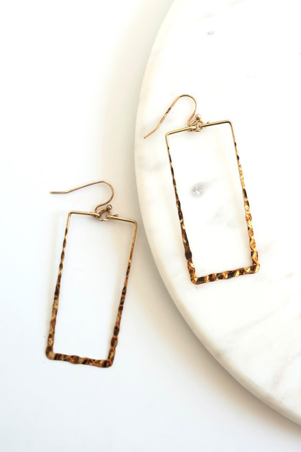 Heidi Hammered Earrings